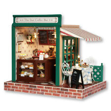 DIY Miniature Project Kit The Star Coffee Bar Music Wooden Dolls House Handcraft