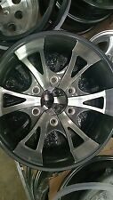 15X6  ALUMINUM 6 SPLIT STAR TRAILER RV WHEEL 6X5.5 TRAILER CITY DIRECT LOW PRICE
