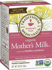 MOTHERS MILK Breastfeeding Nursing Tea 16 bags Organic with Fenugreek