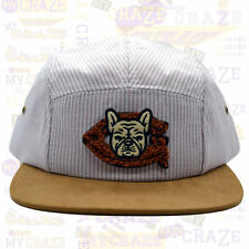 Benny Gold Bulldog Levi Ball Club 5 Panel Suede Cap