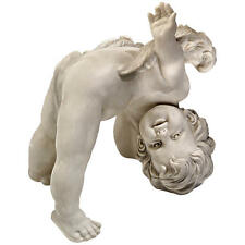 Celestial Tumble Upside Down Baby Angel Cherub Home Garden Statue Figurine NEW