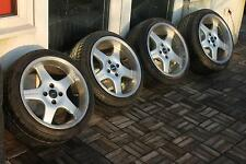 16x9 BORBET E alloys 4x100 polo golf jetta caddy corsa astra civic swift BMW E30
