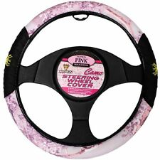 King's Camo Pink Shadow Universal Fit Car Truck Steering Wheel Cover New