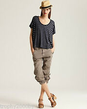 NEW J BRAND $235 JEANS 1334 EARHART SLOUCHY FLIGHT PANTS IN VINTAGE MARSHALL 27
