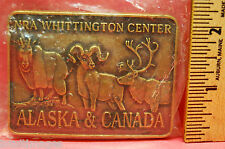NRA Whittington Center Alaska & Canada Belt Buckle National Rifle Association