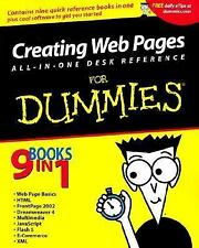 Creating Web Pages All in One Desk Reference for Dummies (With CD-ROM)
