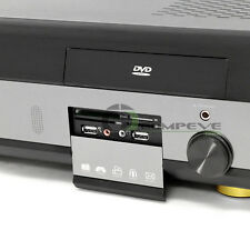 Home Theater Media Center PC Case Barebones HTPC Remote Aluminum KT600 Black NIB