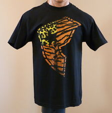 New! Men's Famous Stars and Stripes Logo T-shirt animal print black Size L $22