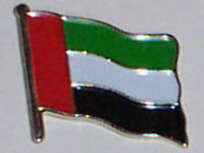 United Arab Emirates UAE Country Flag Enamel Pin Badge
