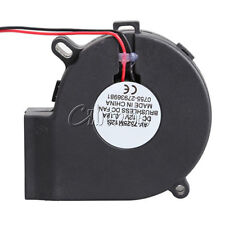 Brushless DC Cooling Blower Fan Sleeve-bearing 7525S 12V 0.18A 75x33mm