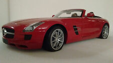 MERCEDES-BENZ SLS AMG ROADSTER 1:18 Scale diecast by MINICHAMPS
