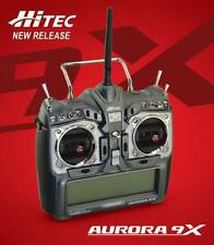 Hitec 192258 Aurora 9X 9-Channel 2.4GHz Helicopter / Airplane Radio / Transmitte
