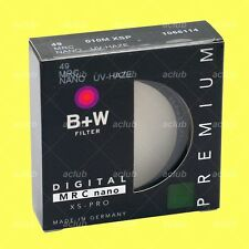 Genuine B+W 49mm XS-PRO Digital MRC nano 010M XSP UV-Haze Filter 1066114