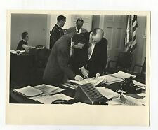 Chester Clifton - Military Aide to JFK - Original Vintage 8x10 Photograph