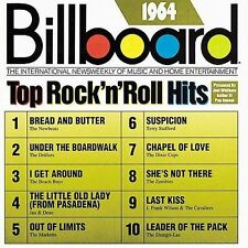 Billboard Top Rock & Roll Hits: 1964 by Various Artists (CD, Sep-1989, Rhino...