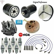 Tune Up Kit Air Oil Fuel Filters Spark Plugs for Toyota 4Runner V6; 3.0L 92-95