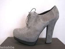Bottega Veneta Gray Suede Platform Boots Booties Shoes 39 9 $890