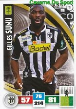 011 GILLES SUNU FRANCE SCO.ANGERS ARSENAL.FC CARD ADRENALYN LIGUE 1 2017 PANINI