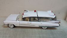 GREENLIGHT 1:18 1959 CADILLAC AMBULANCE(PRECISION MINIATURES)-WHITE - IN STOCK!!