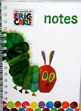 ERIC CARLE NOTES, JOURNAL,$15 NEW HARDCOVER WIREO ,LINED PAPER FREE SHIPPING!