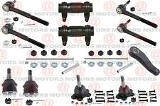 For Express 2500 RWD Sway Bar Link Ball Joints Tie Rods Pitman Adjusting Sleeve