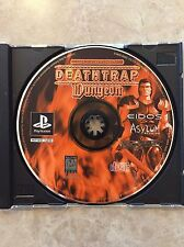 DeathTrap Dungeon  ( Sony  Playstation ), PS1 ,Disc Only