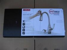 BRAND NEW DELTA DOMINIC TOUCH2o TECHNOLOGY 1 HANDLE PULL DOWN KITCHEN FAUCET