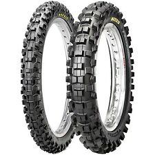 Maxxis Tire Combo MX SI Front 80/100-21, Rear 110/90-19 for Honda CR CRF 250 450
