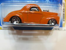 HOT WHEELS 2009 NEW MODELS - CUSTOM '41 WILLYS COUPE ORANGE