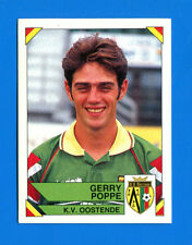 FOOTBALL 95 BELGIO Panini - Figurina-Sticker n. 287 - G. POPPE -OOSTENDE-New