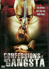 CONFESSIONS OF A GANGSTA - BRAND NEW DVD - FREE UK POST