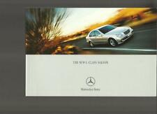 MERCEDES BENZ C 220CDI,270CDI,C180,C200KOMP,C240,C320 SALES BROCHURE JAN. 2001