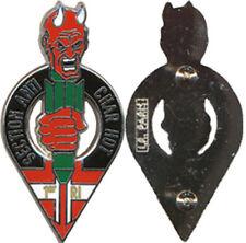 1° Régiment d'Infanterie,C.A Section Antichars HOT,diable 6 doigts L.R. (9371)