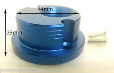 AF038 ALLOY BLUE MINI MOTO MINI DIRT QUAD BIKE AIR FILTER V STACK 44MM