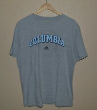 Mens Adidas Go-To Tee Columbia University T-Shirt size Large NYC Ivy League