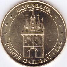 33 BORDEAUX PORTE CAILHAU MÉDAILLE MONNAIE DE PARIS 2011 JETON TOKEN MEDALS COIN