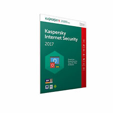 KASPERSKY INTERNET SECURITY 2017 3PC/1YEAR, ANTIVIRUS, NO CD, FAST DELIVERY