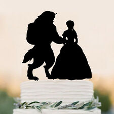 Beauty And the Beast Wedding Cake Topper Disney Style Topper funny cake topper