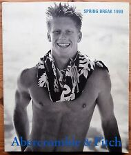 ABERCROMBIE & FITCH SPRING BREAK 1999 GREAT CATALOG BRUCE WEBER SUPERB CONDITION