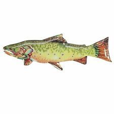 Glass Fish Serving Platter - Colorful Fun Fish - Big Sky Carvers ~TROUT