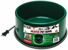 NEW FARM INNOVATORS P-60 ROUND HEATED DOG PET FEEDING BOWL THERMSTAT 5508825