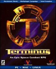 Terminus PC CD pilot fighters & gunboats combat space simulation planet game!