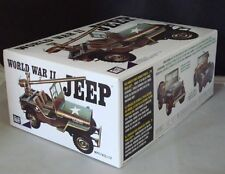 2012 MPC 785 1/25 World War II Military Jeep Military Model Kit new in the box