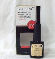 CND Shellac Gel Polish TOP COAT .5oz/15ml  Large