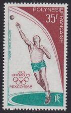 Polynesien French Polynesia 1968 Olympa Olympic Mexiko Mi. 89 ** MNH