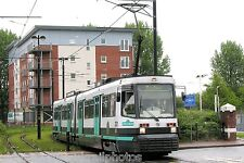 Manchester Metrolink 2001 Salford Quays Tram Photo Ref P449