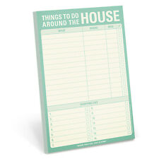 Knock Knock Things To Do Around The House - Note Pad