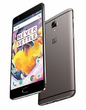 "OnePlus 3T 64GB Gray 16MP 5.5"" LCD 6GB RAM 16MP Android Phone by Fed-ex"