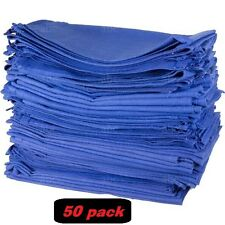 50 SPINTEX BLUE GLASS CLEANING SHOP TOWELS HUCK SURGICAL DETAILING CLEANING MAID