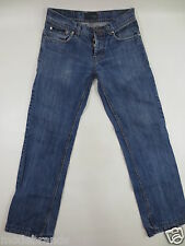 Cult Jeans LACOSTE Button Fly 30 denim blue used mit Fehler /GG90